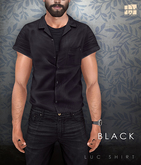 [Deadwool] Luc shirt - black