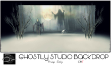 **SN~ Ghostly Studio Backdrop