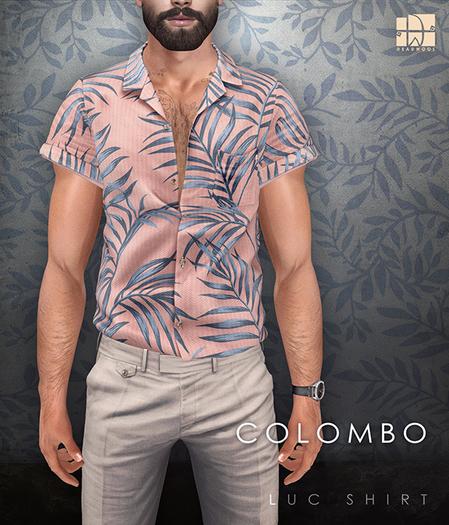 [Deadwool] Luc shirt - Colombo