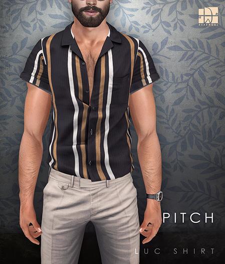 [Deadwool] Luc shirt - pitch
