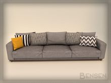 'Uppsala' Triple sofa