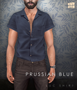 [Deadwool] Luc shirt - prussian blue
