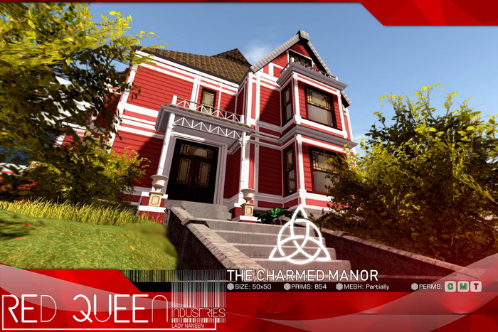 Second Life Marketplace The Charmed Manor Rl Replica