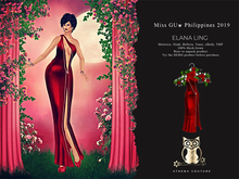 Athena Couture Miss Philippines [Red] Wear to Unpack