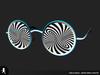 Hypno trippy glasses 09