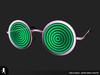 Hypno trippy glasses 08