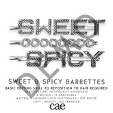 Cae :: Sweet & Spicy :: Barrettes [bagged] DEMO