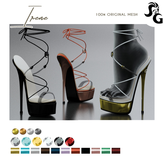 ::SG:: IRENE Shoes - LEGACY