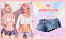 :: MOMOCHUU :: Shorts - Blue C
