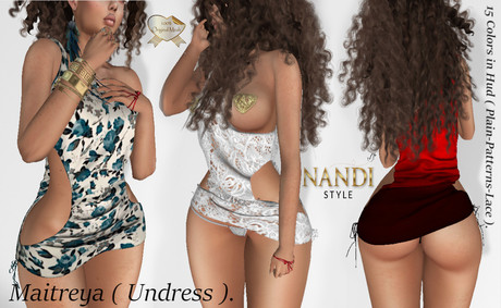 Box Dress Eliana ( Undress me ) *Nandi Style*