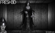 Fresh3D Witch Lord Woman STATUE