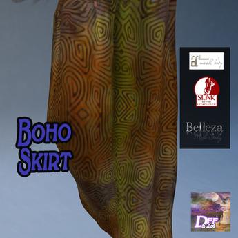 DFF Boho Skirt #23