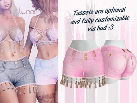 Lunar - Mimi Shorts - Bubblegum Pink