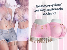 Lunar - Mimi Shorts - Bubblegum Pink (Boxed)