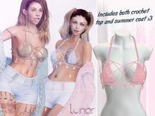 Lunar - Mimi Top & Coat - Baby Pink