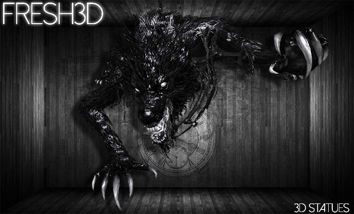 Fresh3D Bigbadwolf STATUES