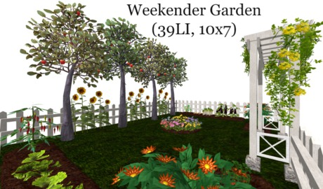 Weekender Garden(39LI, 10x7)