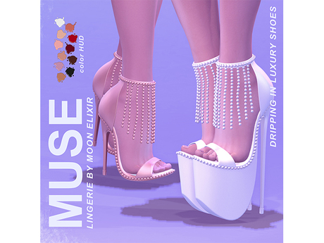 Moon Elixir x MUSE - Dripping In Luxury - Shoes