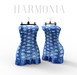 *** Harmonia Blue Flowers Tina Dress - Maitreya