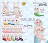 {Momoko} MerBunbun Display - Cream - 24