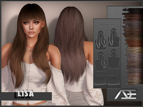 Ade - Lisa Hairstyle (Browns)