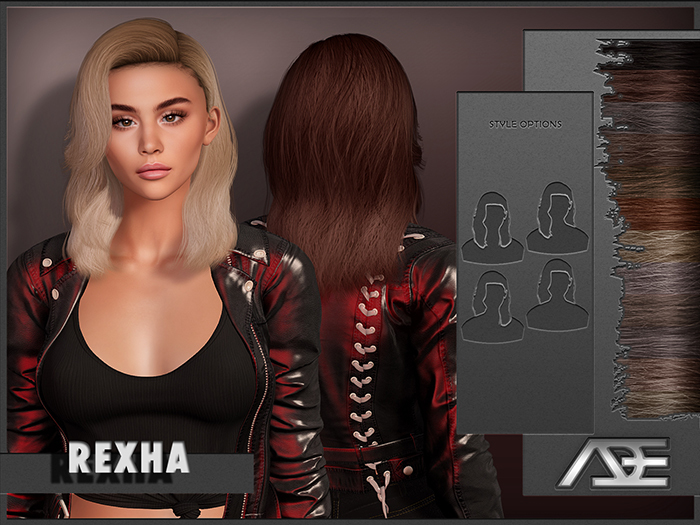 Ade - Rexha Hairstyle (Browns)