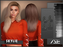 Ade - Skylie Hairstyle (Greyscale)