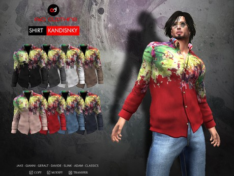A&D Clothing - Shirt -Kandinsky-  SlimPack