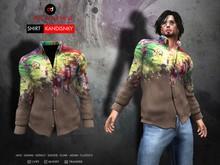 A&D Clothing - Shirt -Kandinsky- Brown