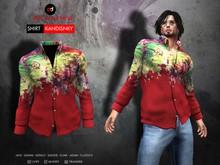 A&D Clothing - Shirt -Kandinsky- Red