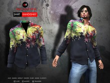 A&D Clothing - Shirt -Kandinsky- Navy