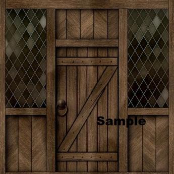 Wooden Front Door With Side Windows