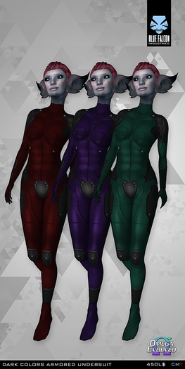 =BFI// Dark Colors Armored Undersuit - Appliers Only (PRICE DROP)