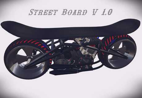 (Skill Tracks) Street Board V 1.1