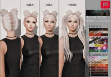 -FABIA- Mesh Hair   <Niki> Blond2 set 2