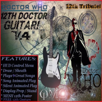12th Doctor's Guitar Package