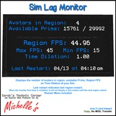 STC-Michelle's - Sim Lag Monitor (without Hovertext)