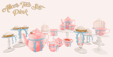 DISORDERLY. / Alice's Tea Set / Pink / v.2 / ADD
