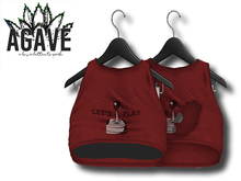 AGAVE - Sunrise Crop Top Pak, Red
