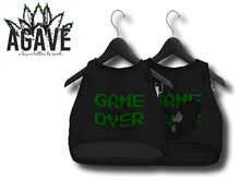 AGAVE - Sunrise Crop Top Pak, Black
