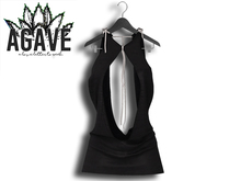 AGAVE - Solaris Drape Dress Pak Black