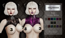 "KiB Designs - Ikram Leather Bolero FATPACK ""Wear"""