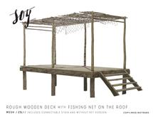 Soy. Rough Wooden Deck [addme]