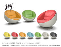Soy. Retro Sphere Chair [addme]