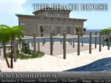 THE BEACH HOUSE - UNFURNISHED. 2 VERSIONS*