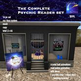 The complete Psychic Reader Shoppe set-Crate