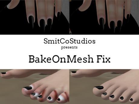 SmitCoStudios :: Nail Covers for BakeOnMesh