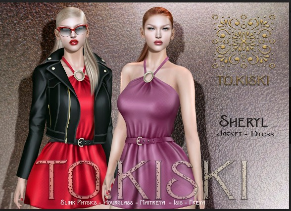 TO.KISKI - Sheryl Dress  / Fatpack (add me)