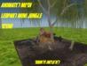 Leapord mini jungle scene 001a