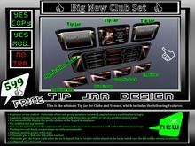 * New * Club Set Pack * Appl. Board Tip jar ect. *
